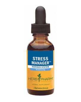 Herb Pharm Stress Manager - 1 fl oz