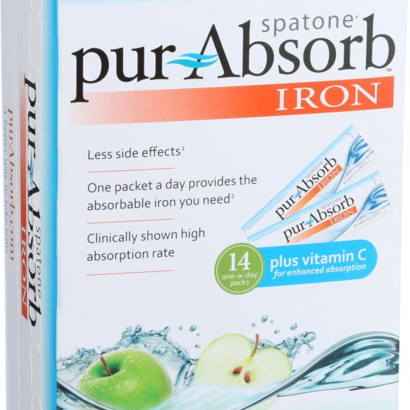 Nelsons pur Absorb Iron - Apple - 14 Count