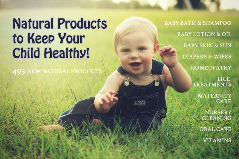 Natural Health Products for My Baby