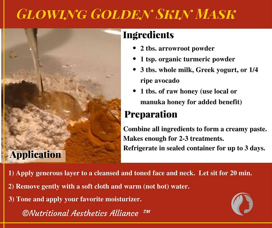 Golden Skin Mask