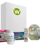 Wellness Box natural product samples